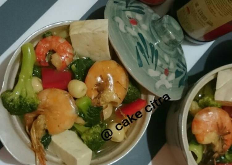 Resep Sapo Tahu Seafood Oriental Yang Sempurna
