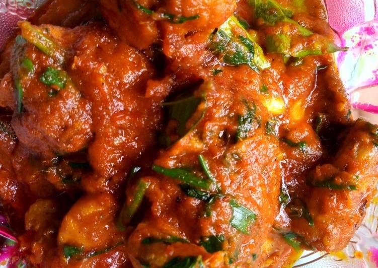 Resep Ayam Rica-rica Recooked Ci Linagui_kitchen, Lezat