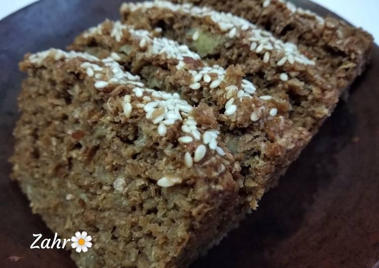Wheat Bran Banana Cake (dairy free)