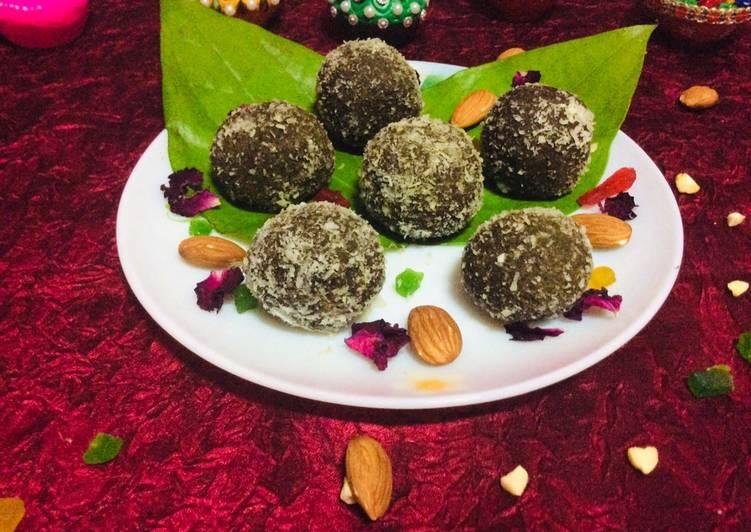 Step-by-Step Guide to Prepare Favorite Sweet pan laddu