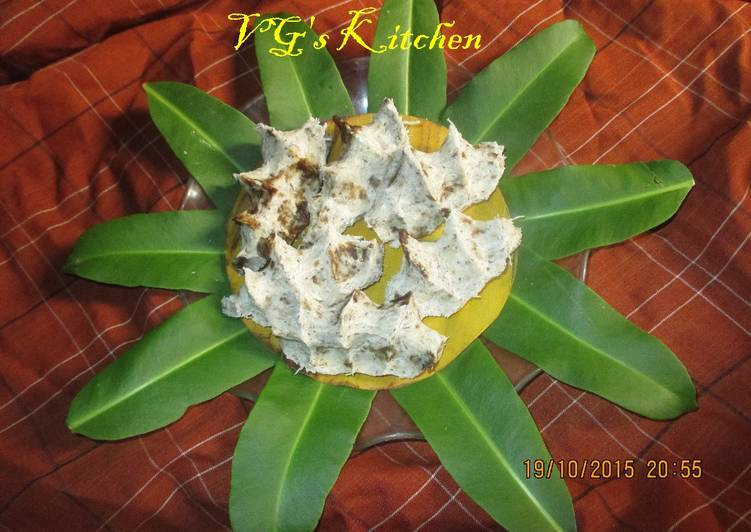 Going Green for Good Health By Dining Superfoods Pep Cake (ITAK GURGUR)
