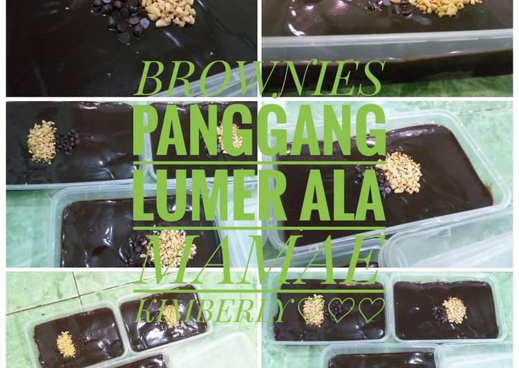 Bagaimana Membuat Brownies Panggang Lumer, Enak
