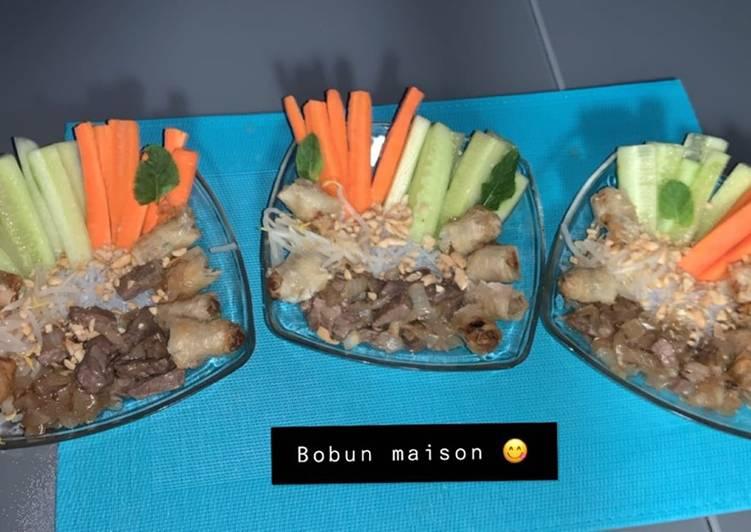 Simple Way to Prepare Favorite Bobun maison