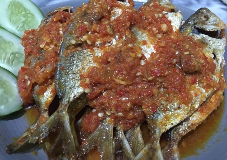 Ikan Selar Balado