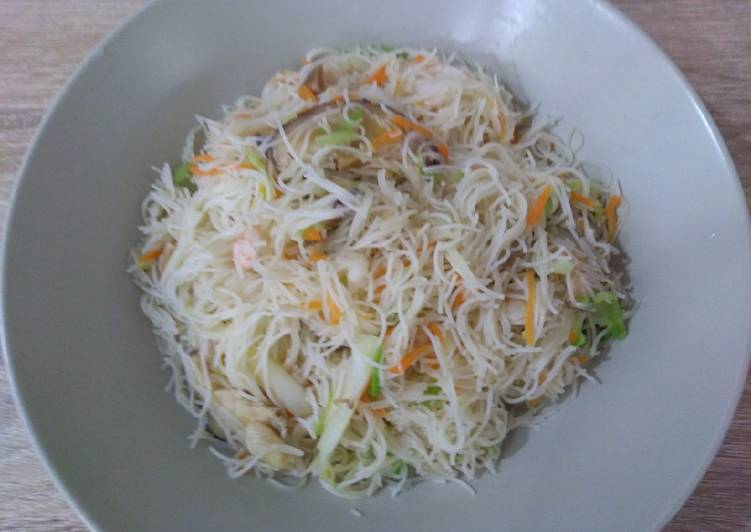 Recipe of Super Quick Homemade 台式炒米粉 Taiwanese Fried Rice Vermicelli