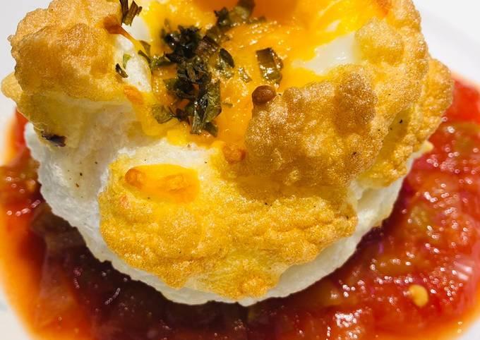 Recipe: Appetizing Muffin Cup Cloud ☁️ Eggs 🥚