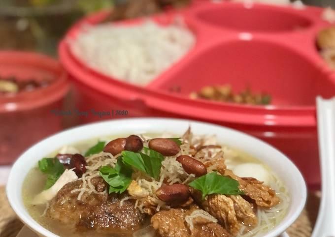 Soto Ayam Nasi Impit