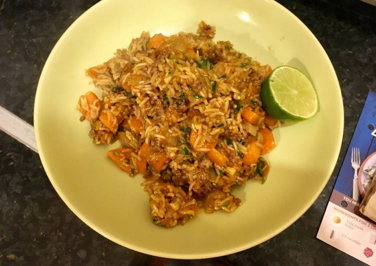 Beef Keema (w/ aubergine, lime & coriander), Some Foods That Help Your Heart