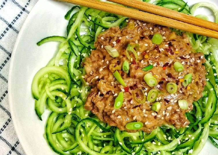 Refreshing Cucumber Sesame Noodles