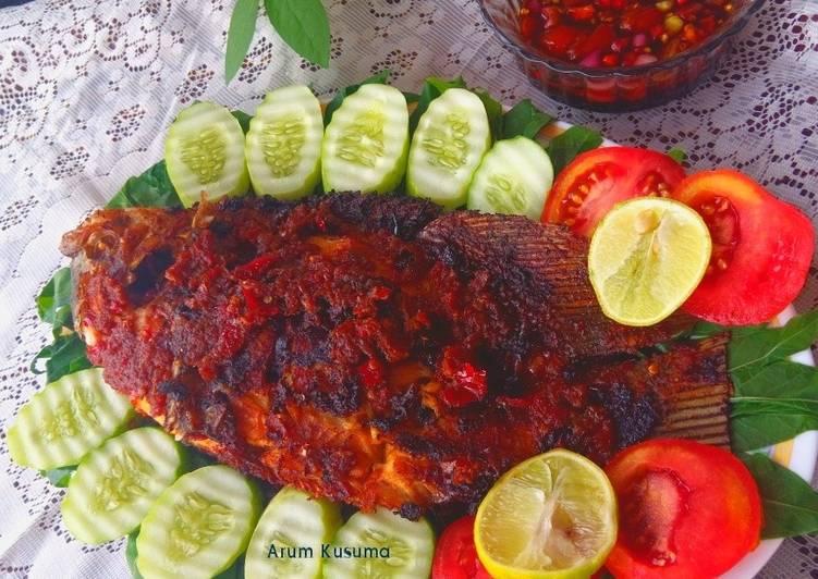 Ikan Gurame Bakar Bumbu Jimbaran