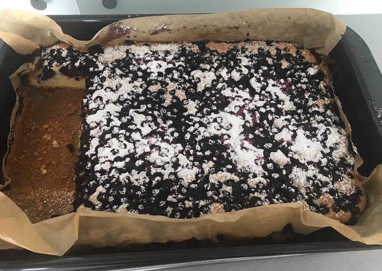 Ciasto z jagodami główne zdjęcie przepisu