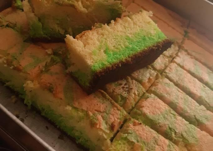 Two Tone Cake (Bolu Dua Warna)