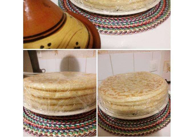 MKHANFAR pancake du Maghreb