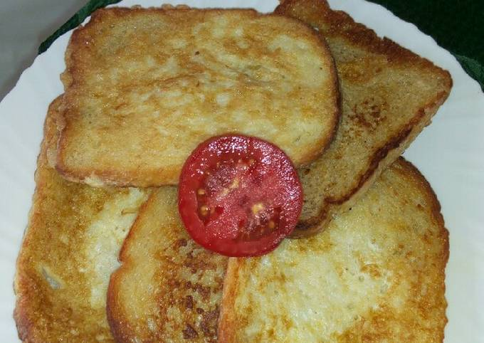 French toast 'Bread and eggs'