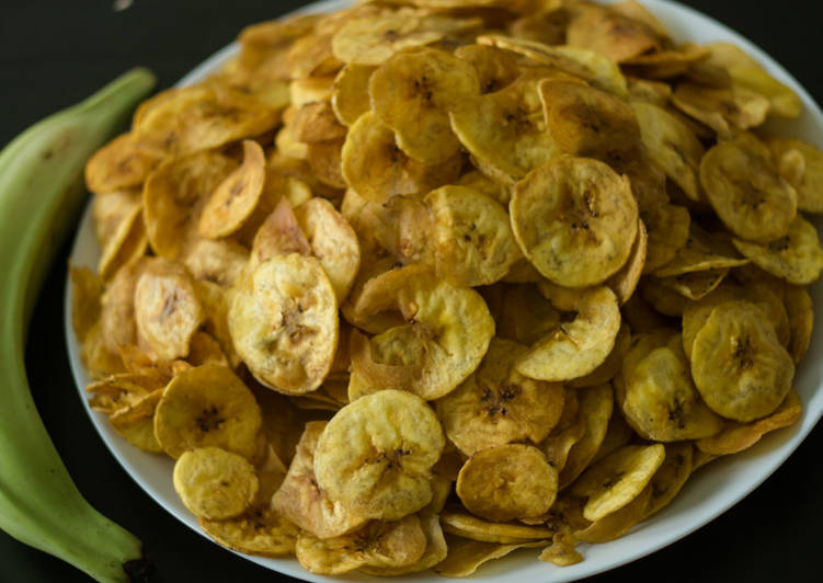 Banana chips/ Ethakka upperi