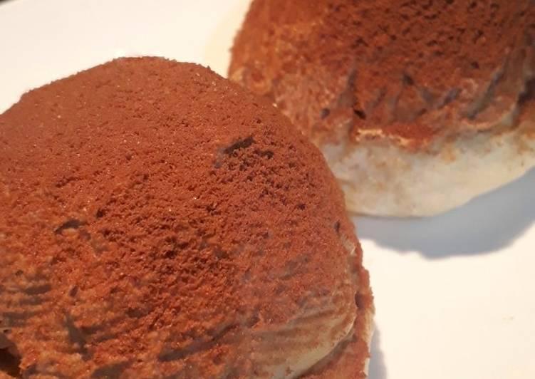 Milo Cream Bun (Roti Krim Milo)