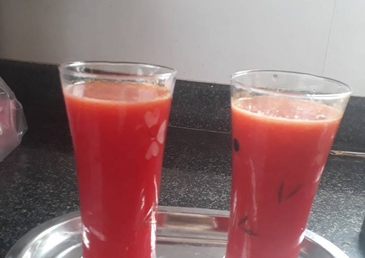 Easiest Way to Make Award-winning Pomegranate and oranges juice