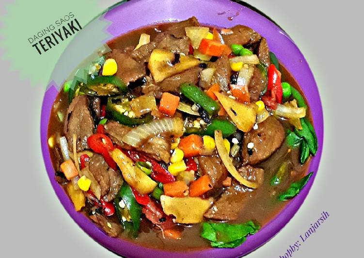 Daging teriyaki