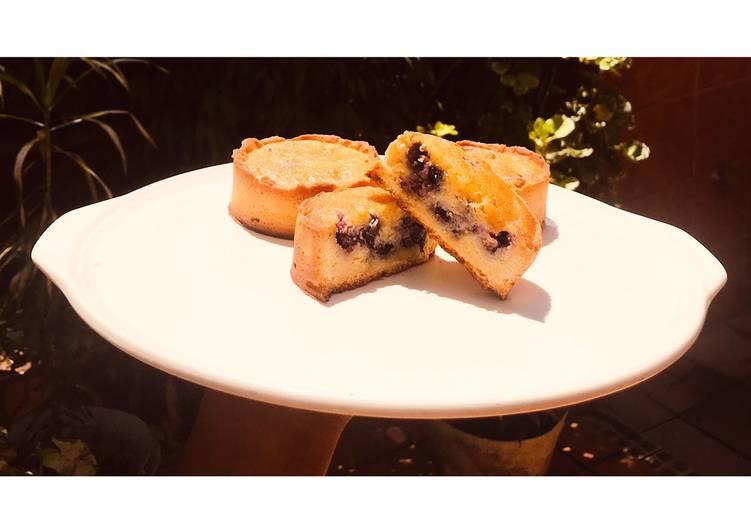 Recette: Tartelettes amandes myrtilles