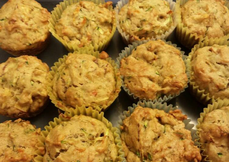 New Secret Zucchini Carrot Apple Muffins Free Download