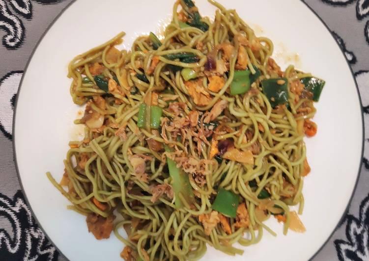 Resep Mie instan goreng Sehat dan Enak Paling Mudah
