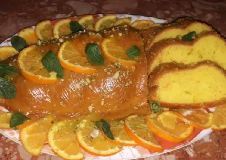 Kake à l'orange