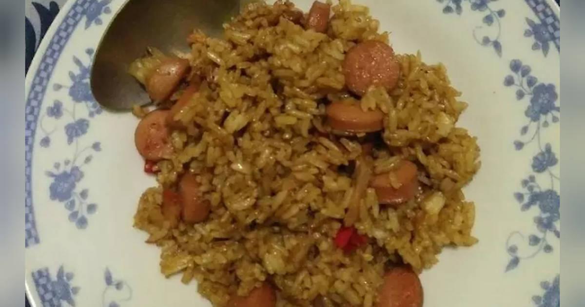 2 758 Resep Nasi Goreng Simple Sosis Pedas Enak Dan Sederhana Ala Rumahan Cookpad