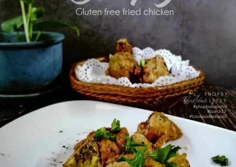 Gluten free Ayam Goreng Rangup - velavinkabakery.com