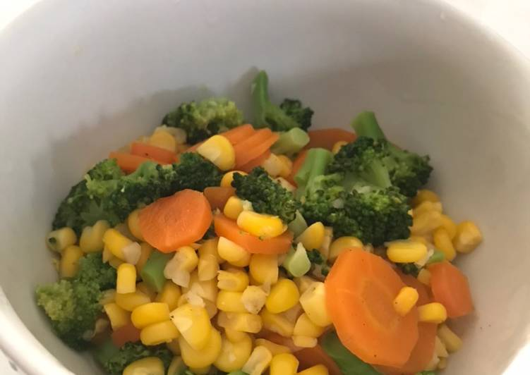 Orak arik sayur sehat simpel