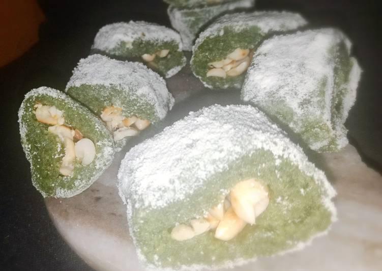 Spinach Peanut halwa😋
