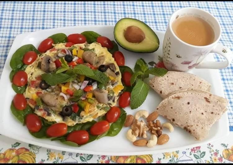 10 Minute Steps to Make Quick Chees double omlate and suba ki taza tea