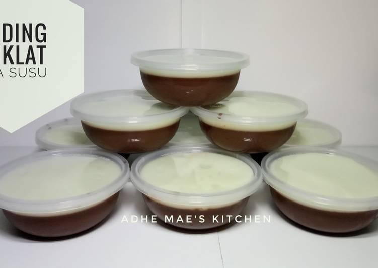 Puding Coklat Vla Susu