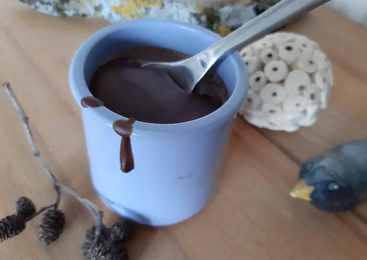 Crème au chocolat facile