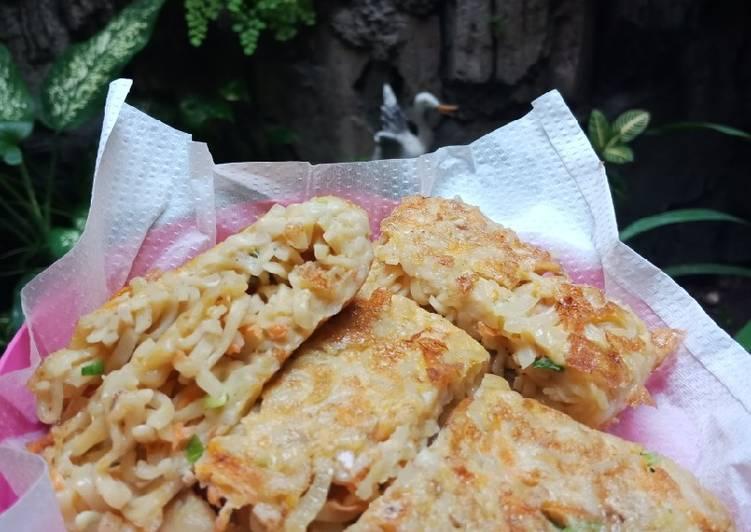 Omelet Mi dan Sayur