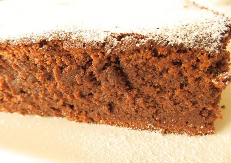 Brownie de almendra sin harina