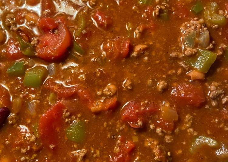 Step-by-Step Guide to Prepare Any-night-of-the-week Yummy chili