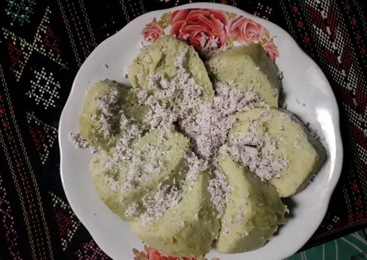 Bolu Apem / Apem Jumbo Pandan Tepung beras - ganmen-kokoku.com