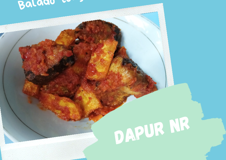 Balado ikan tongkol&kentang