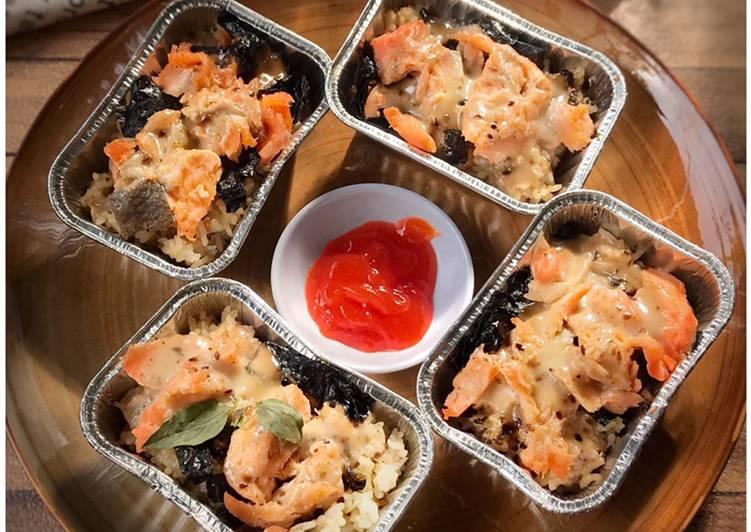 Salmon Mayo Rice (Tanpa Mentai)