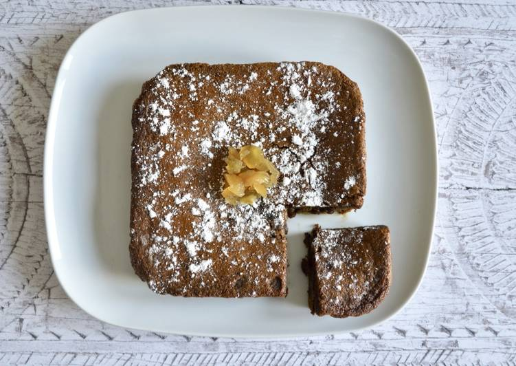 The Best Dinner Easy Winter Sticky Gingerbread Blondies