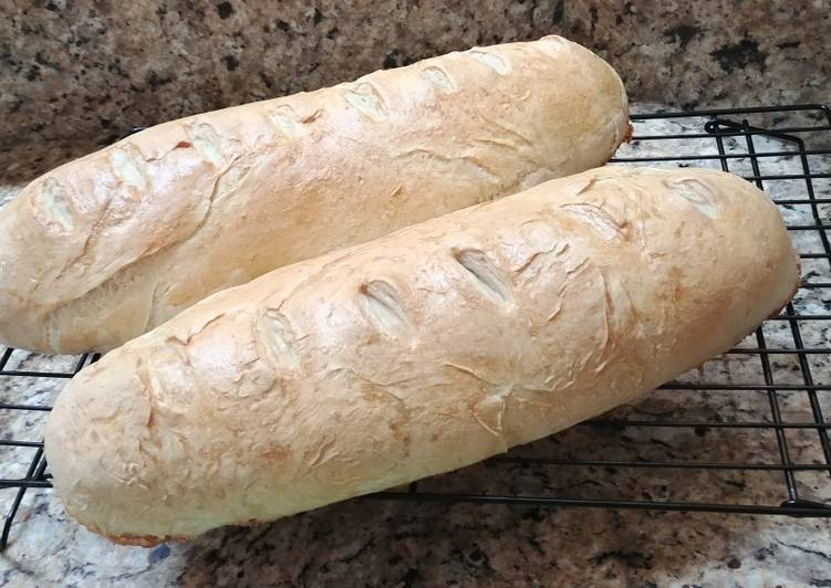 Italian Bread (Only 4 ingredients and one of those is water!)