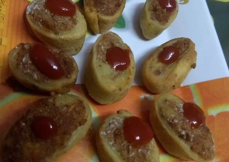 How to Make Perfect Rice &Potatoes stuffed roll_