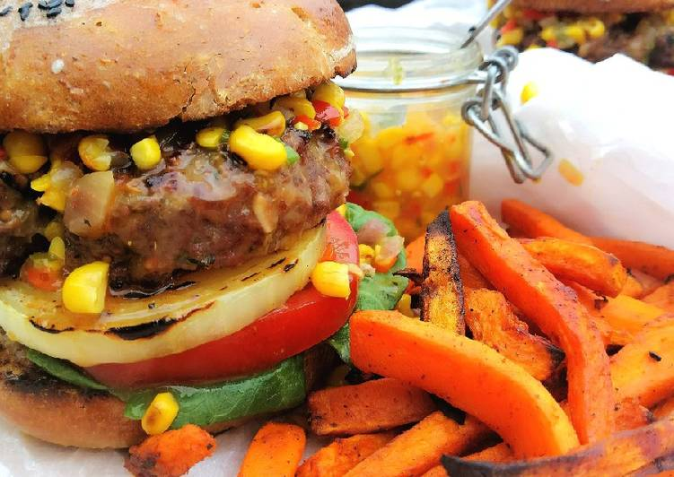 Fittest chef's beef burger