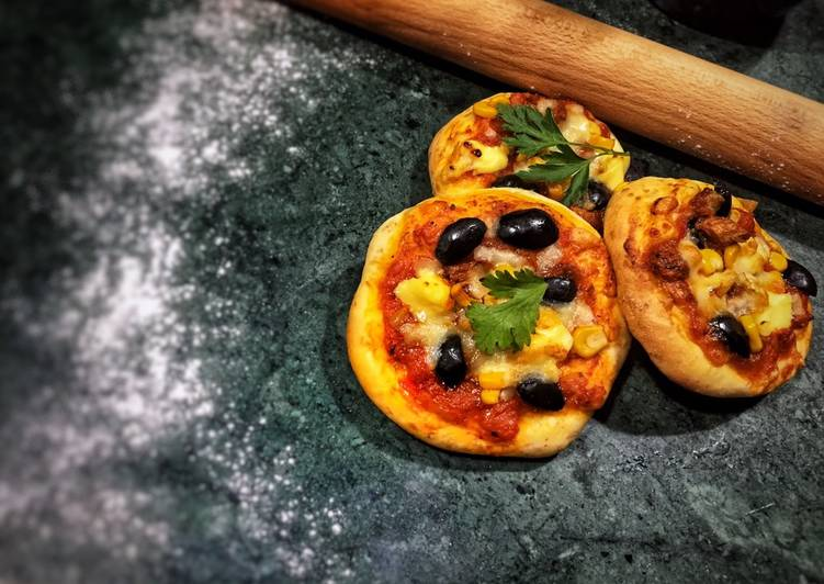 Recette: Mini pizza �