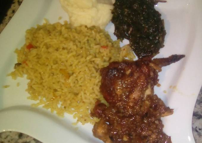 Mexican Chicken with savoury rice