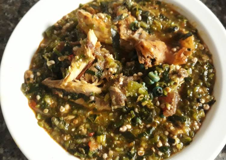 Old Fashioned Dinner Ideas Ultimate Okro soup with perwrinkle