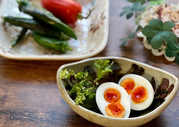 Salty Boiled Egg