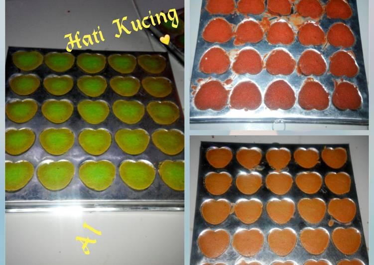 Lidah Kucing Bentuk 💞 Dgn Kuning Telur - cookandrecipe.com
