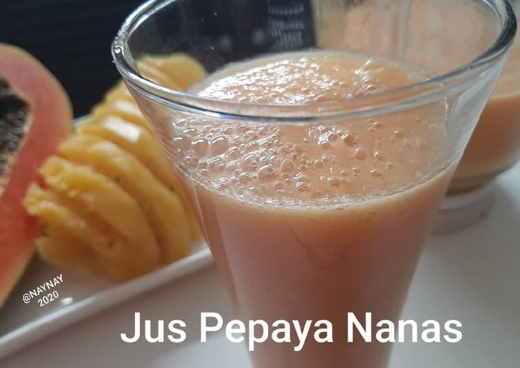 Jus Pepaya Nanas