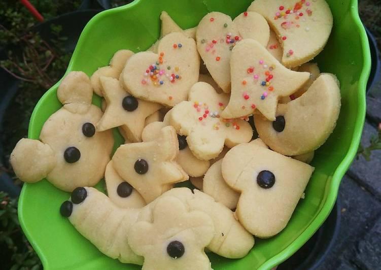 Cookies Simple 4 Bahan